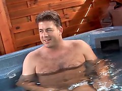 Busty Shorthair MILF fucked in Pool