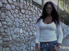 Luscious Ebony Ts Hooker Paris Pirelli Ass Nailed And J