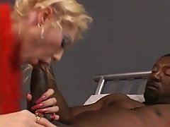 Dalny Series 27 Red Lingerie BBC Assfuck