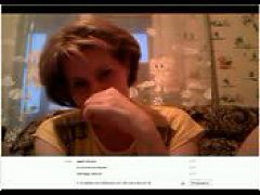 Ludmila Masturbates On Skype
