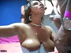 Spermastudio Sexy Susi gets lots of cum P2