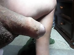 68 yrold Grandpa #148 mature cum close closeup wank uncut