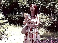 Japanese MILF interracially ravaged