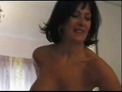 Busty British Milf Sarah Beattie gets fucked up the ars