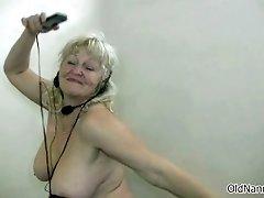 Nasty Mature Slut Get Horny Dancing Naked By Oldnannies