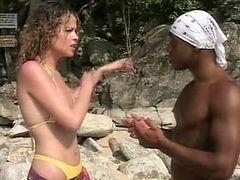 Ebony hot melanie