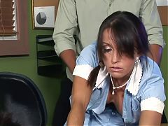 MATURE MAID TRIES TO KEEP HER JOB! F70