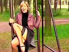 Sexy outdoor fun