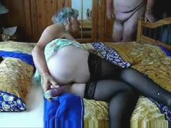 Stolen video of slut granny having fun Amateur