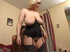 Mature busty british mom