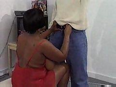Black chick with big boobs PRT