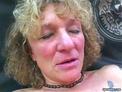 Wild Granny Shows Her Sucking Skills