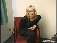 Mature mature milf blonde
