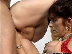 Nasty Mature Sluts Go Crazy Sucking On An Hard Cock And