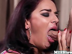 Gagging Gorgeous Mature Facefucked Roughly