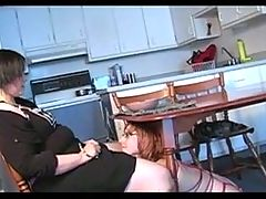 Fat Mistress Use Young Maid