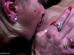 Big Lesbian Group Love With Mature Moms And Grannies