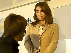 Japanese Big Tit MILF Teacher Sex With Student