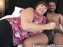 Busty Maure BBW gets Stuffed By Black Cock