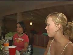 Amateur Lesbians at a Party