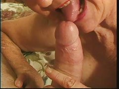 Loud granny still wants cock