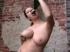 Busty Mom loves the Bottle Of