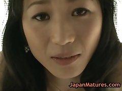 Asian Mature Natsumi Kitahara Stripping For Camera 5 By