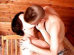 Russian Mom 19 Mature With A Young Man