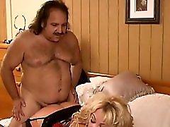 Ron Jeremy makes love to a mature buxom woman Pt 4 4