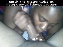 Sloppy Head Deepthroat Training Black Ebony Cumshots Eb