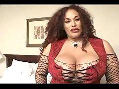 Gina de Palma and 2 cocks