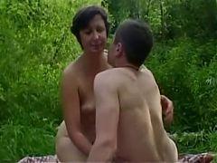 Small Boy Loving Mom HD