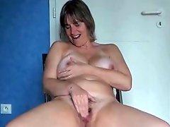 Sexy Mature Masturbation