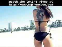 Dancing in the douche music video teen amateur teen cum