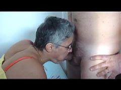 Sexy Granny Fucked Sex Party