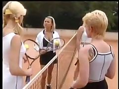 Nice German Tennis Court Sex