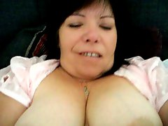 Mature milf in action