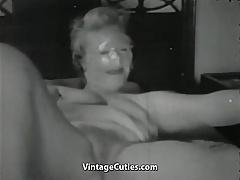 Madam Masturbates and Craves Sex 1940s Vintage