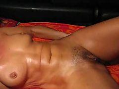 Nice Oily Body Gets Massaged