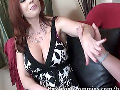Home Teacher Fucks MILF On The Couch