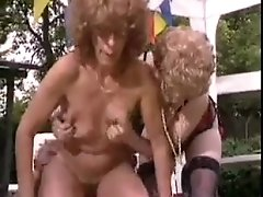 Old Women Having Sex Outside