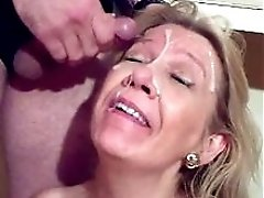 Canadian Milf Needs A Facial!
