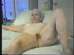 Granny Lets You Jack Off To Her Pussy
