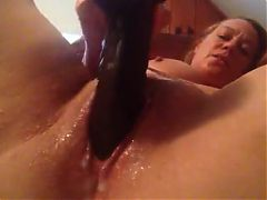 Cute Chubby Chick Makes A Wet Mess