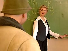 Blonde Teacher