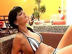 Black Angelika In Bikini