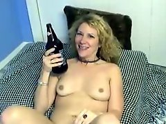 Amateur Hot Blond Enthusiastic Self Bottling