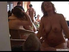 Mature Home Orgy