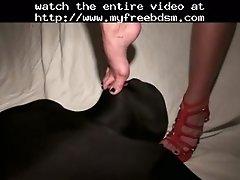 Under feet & heels preview bdsm bondage slave femdo