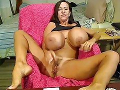 Webcam Giant Tits Busty Mature